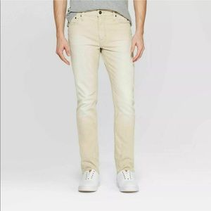 Goodfellow&Co. |Slim Fit Denim Pants in Clay 34x30